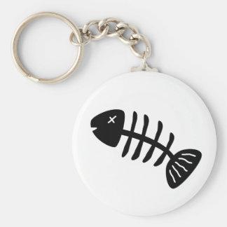 Fish Bones Keychain