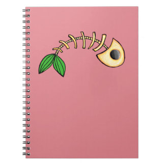 Fish Bones Notebook