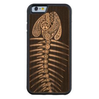 Fish Bones Skeleton Cherry iPhone 6 Bumper Case