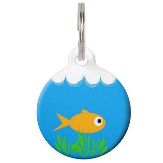 Fish Bowl Pet ID Tag