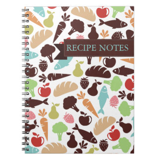 Fish bread fruit vegetable food chef catering notebook