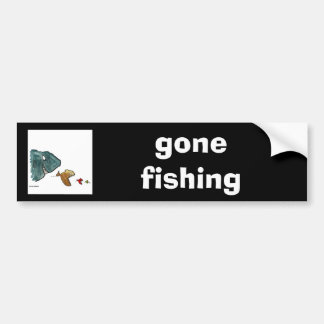 fish bumper sticker