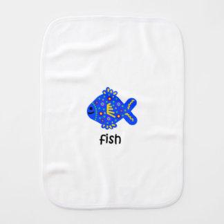 Fish Burp Cloth