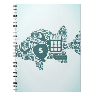 Fish business note book