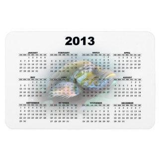 Fish Calendar Magnet