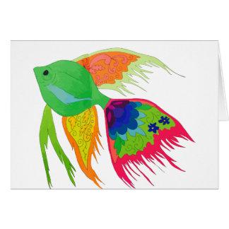 Fish Card