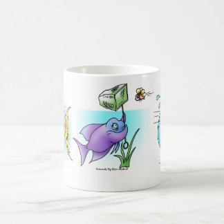 Fish Cartoon Montage 3 Coffee Mug