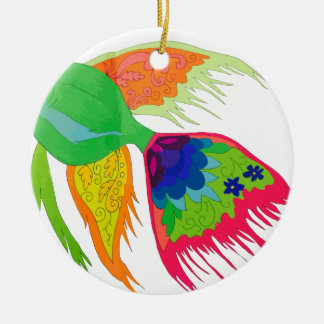 Fish Ceramic Ornament