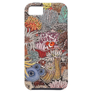Fish clown and anemones case for the iPhone 5