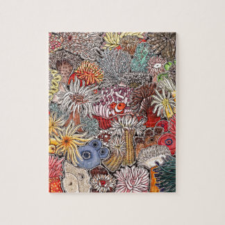 Fish clown and anemones jigsaw puzzle