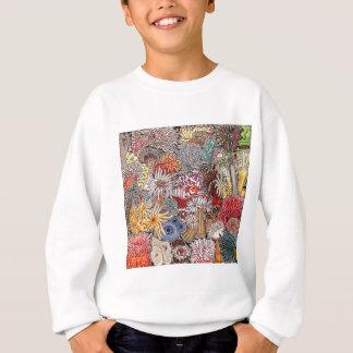 Fish clown and anemones sweatshirt