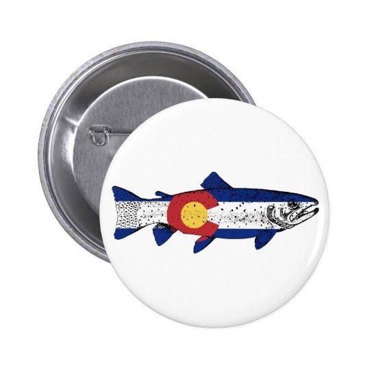 Fish Colorado 2 Inch Round Button