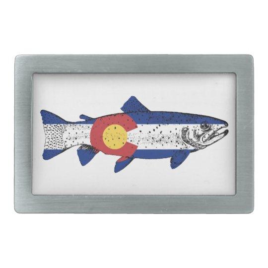 Fish Colorado Belt Buckles