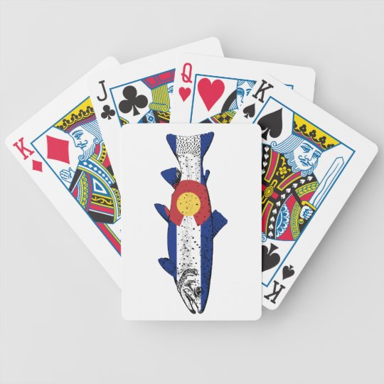 Fish Colorado Bicycle Playing Cards