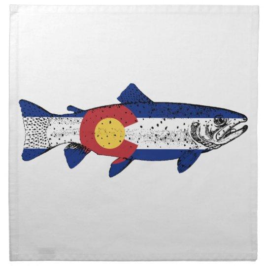 Fish Colorado Printed Napkins