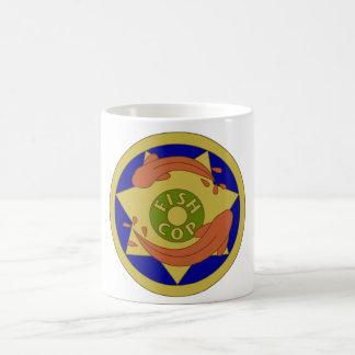 Fish cop mug