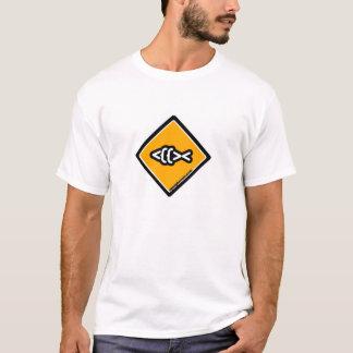 Fish Crossing Logo T-Shirt