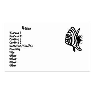 Fish Design Business Card