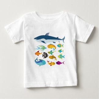 fish design tshirt