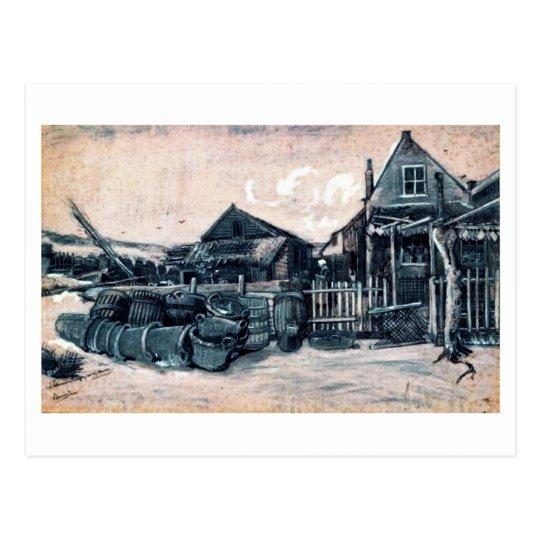 Fish-Drying Barn, Vincent van Gogh Postcard