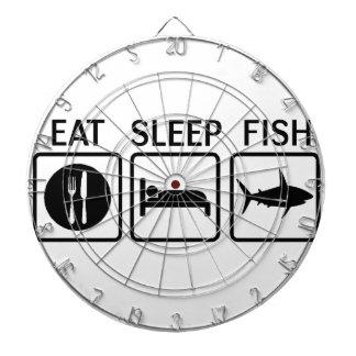 fish eat sleep dartboard