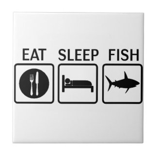 fish eat sleep tile