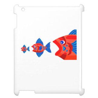 Fish Eating Fish iPad Cover