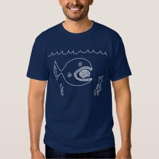Fish Eats Brain T-shirts