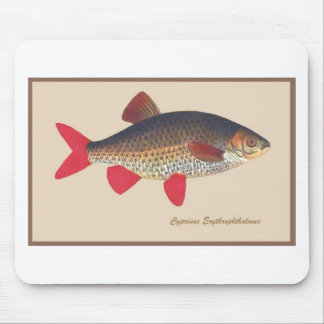 Fish Engraving Mouse Pad