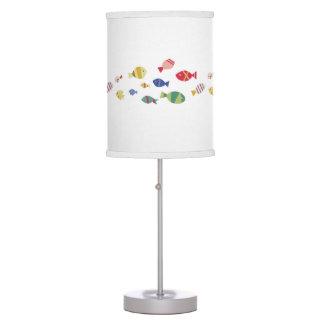 Fish everywhere table lamp