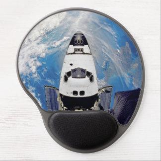 Fish Eye View Space Shuttle Atlantis Earth Orbit Gel Mouse Pad