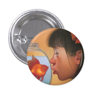 Fish Face Button