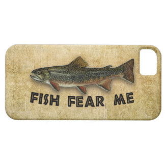 Fish Fear Me Funny Fishing iPhone 5 Covers