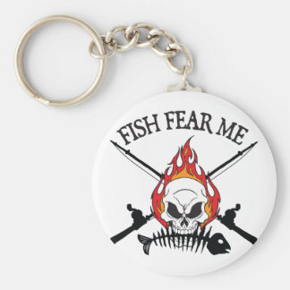 Fish Fear Me Pirate Key Chains