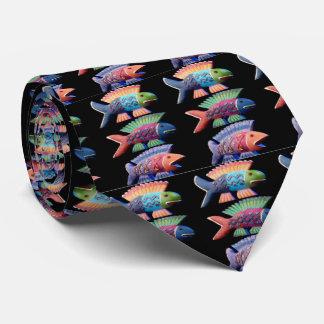 fish, fish, fish, tie