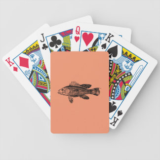 Fish Fisherman Sea Collection Bicycle Playing Cards