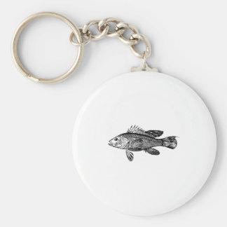 Fish Fisherman Sea Collection Keychain