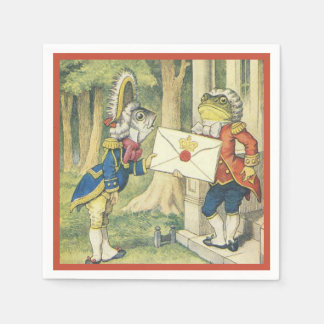 Fish Footman and the British Toad 1 Paper Napkins
