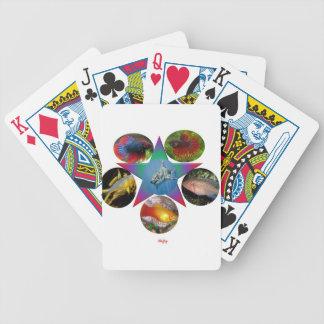 fish,goldfish,carp, fishing, sea, ocean, animal bicycle playing cards