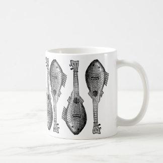 Fish Guitar Coffee Mug