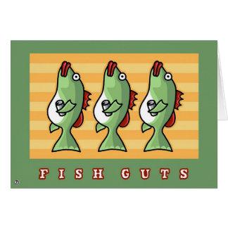 fish guts card