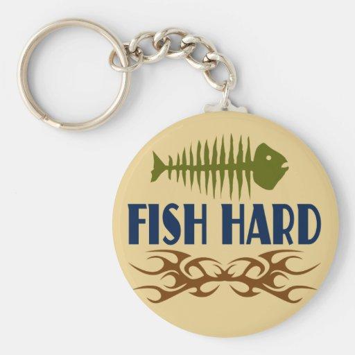 Fish Hard Keychain