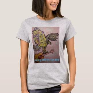 Fish Hawk song above the sea T-Shirt