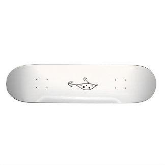 Fish Hook Skateboard Deck