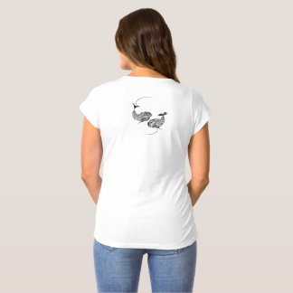 Fish Horoscope, Zodiac, Pisces Maternity T-Shirt