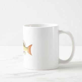 Fish Illustration no.7 Beach Home Decor Coffee Mugs