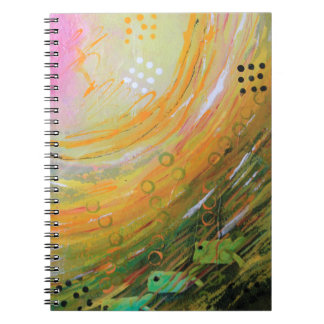 Fish in a Green Sea Notebook