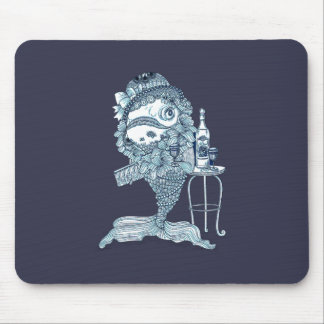 Fish in Costume Mouse Pad