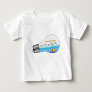 Fish in Lightbulb Baby T-Shirt