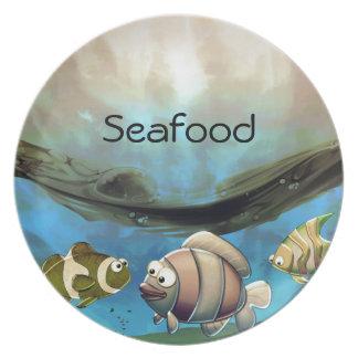 Fish in Ocean Plates
